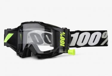masque 100 accuri forecast blanc noir ecran clair