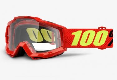masque 100 accuri otg porteur de lunettes saarinen ecran clair