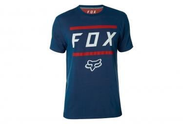 T shirt technique manches courtes fox listless bleu l