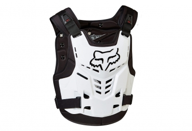 Gilet de protection fox proframe lc blanc l xl