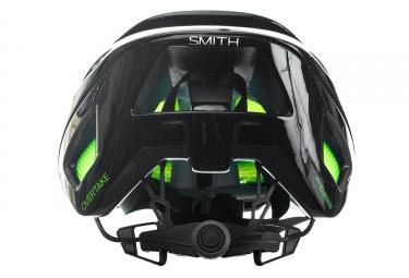 Casco Smith OVERTAKE Noir / Vert / Fluo