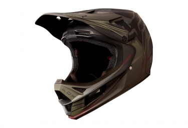 Casque integral fox rampage pro carbon kustom marron m 57 58 cm