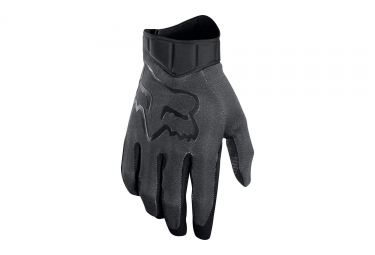 Gants longs fox airline race noir m