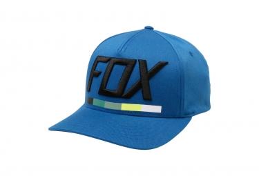 Casquette flexfit fox drafter bleu l xl