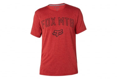 T shirt technique fox passed up rouge xl