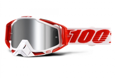 100% Racecraft Plus Bilal Googles - Rosso / Irridio