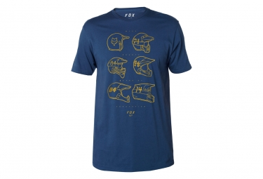 T shirt fox evolutionary premium blue s