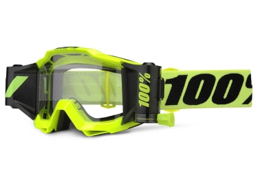 masque 100 accuri forecast jaune fluo ecran clair
