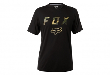 T shirt technique fox cyanide squad noir s