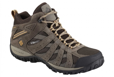 Chaussures impermeable columbia redmond mid marron beige 45