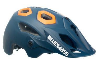 casque bluegrass golden eyes bleu orange l 58 63 cm
