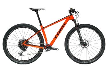 vtt semi rigide trek 2018 procaliber 9 8 sl 29 sram gx eagle 12v orange noir 19 5 po