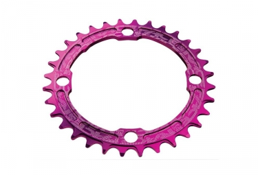 Race face mono plateau narrow wide 104mm violet 32