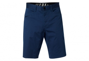 Short fox stretch chino bleu 34