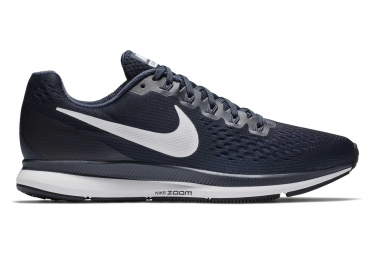 Chaussures de running nike air zoom pegasus 34 bleu marine homme 40 1 2