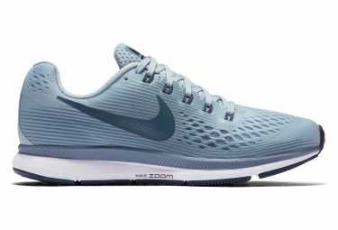 Chaussures de running femme nike air zoom pegasus 34 bleu 38