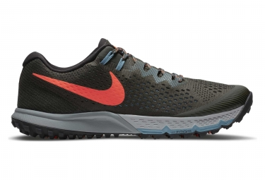Chaussures de trail nike air zoom terra kiger 4 kaki orange 41