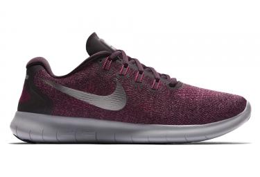 Chaussures de running femme nike free rn 2017 rouge bordeaux 38