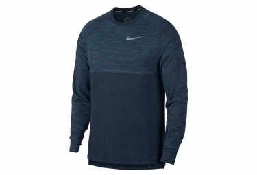 Maillot manches longues nike dry medalist bleu l