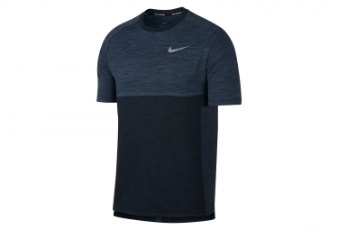 Maillot manches courtes nike dry medalist bleu l