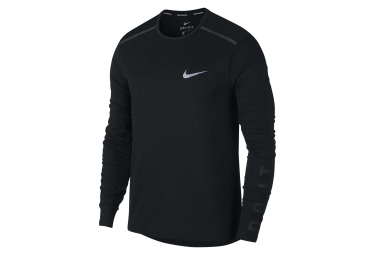 Maillot manches longues nike tailwind noir m
