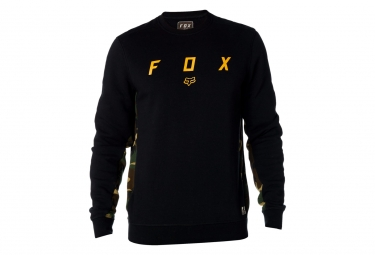 Fox Harken Crew Fleece Black