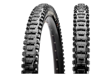 Pneu vtt maxxis minion dhr ii 27 5 tubeless ready souple exo protection dual compoun