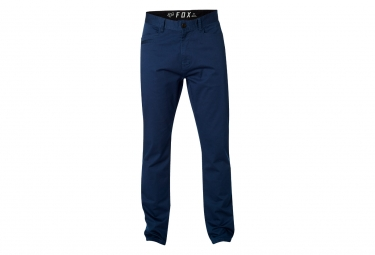 pantalon fox stretch chino bleu 32