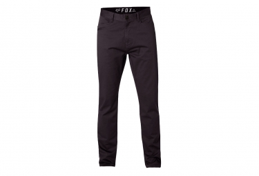 pantalon fox stretch chino noir 36