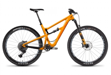 Velo tout suspendu santa cruz hightower 1 c carbone 29 sram gx eagle 12v orange 2018