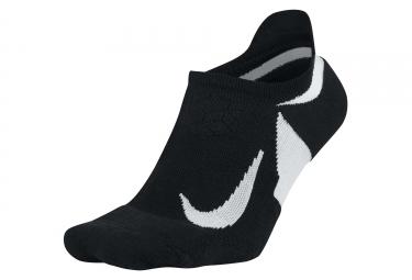 Paire de chaussettes nike dry elite cushioned no show noir 38 5 40 5