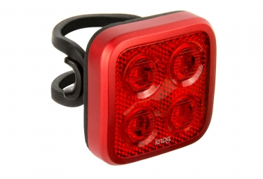 Eclairage Arriere Knog Blinder Mob Four Eyes Rouge
