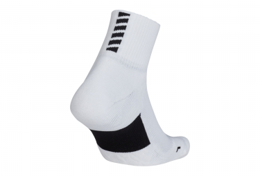 Nike Elite Cushion Quarter Pair of Socks White