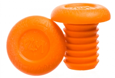 Embouts de Guidon Volume VLM Orange