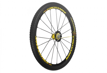 Roue arriere mavic crossmax sl pro ltd 29 9 12x135 142mm pneu crossmax pulse 2 10 sh