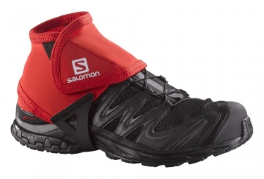 Salomon Trail Gaiters Red