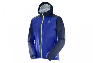 Veste coupe vent salomon bonatti wp bleu xl