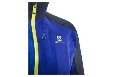 Veste Coupe-Vent Salomon Bonatti WP Bleu