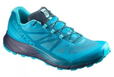Chaussures de trail femme salomon sense ride bleu 40
