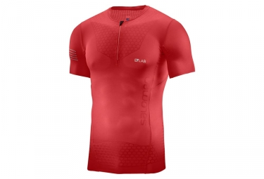 Jersey corto Salomon S / Lab Exo Red