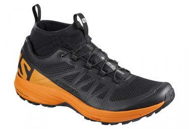 Chaussures de trail salomon xa enduro noir orange 44