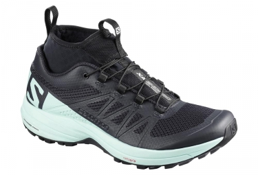 Chaussures de trail femme salomon xa enduro noir bleu 38