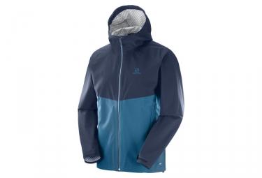 Salomon La Cote Flex 2.5L Windproof Jacket Blue