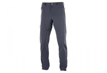 Pantalon salomon wayfarer incline gris 44