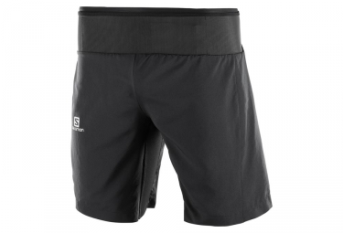 Salomon Trail Runner Twinskin 2-in-1 Shorts Black
