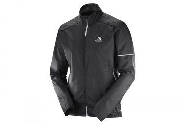 Veste coupe vent salomon agile noir xl