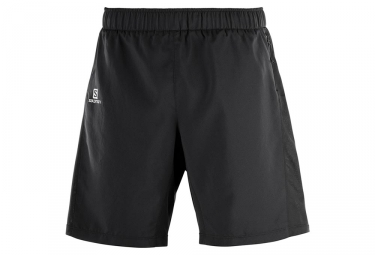 Salomon Agile 2 en 1 Pantalones cortos Negro