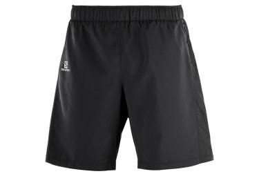 Salomon Agile 2 in 1 Shorts Nero