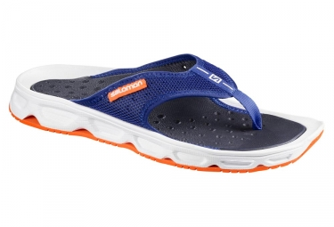 chaussures de recuperation salomon rx break bleu orange 45 1 3