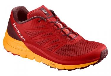 Chaussures de trail salomon sense pro max rouge 46 2 3